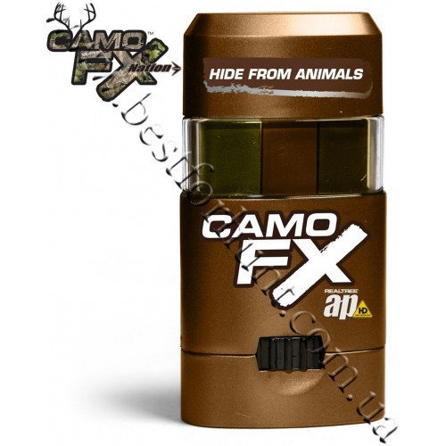 CamoFX® Realtree AP® Face Paint Green-Light Brown-Dark Brown