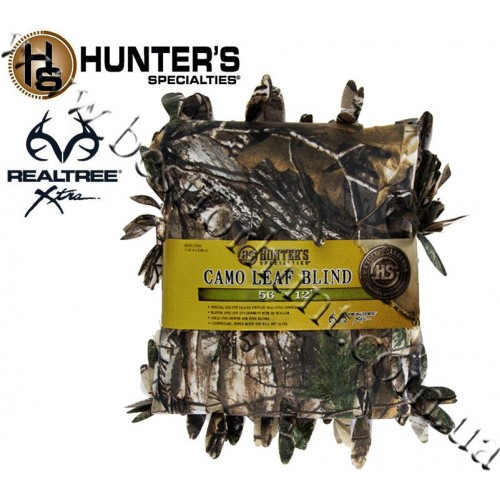 """Hunter's Specialties 56""""x12' Camo Leaf Blind Material Realtree Xtra®"""