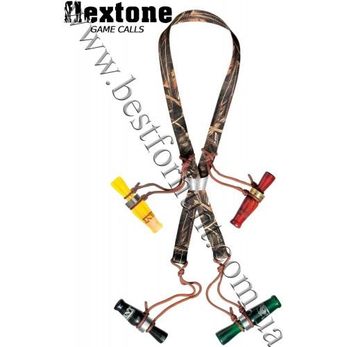Flextone® 8-Loop Call Lanyard Realtree MAX-4®