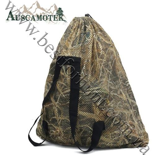 Auscamotek® Mesh Duck Decoy Bags Natural Wetland Camo™