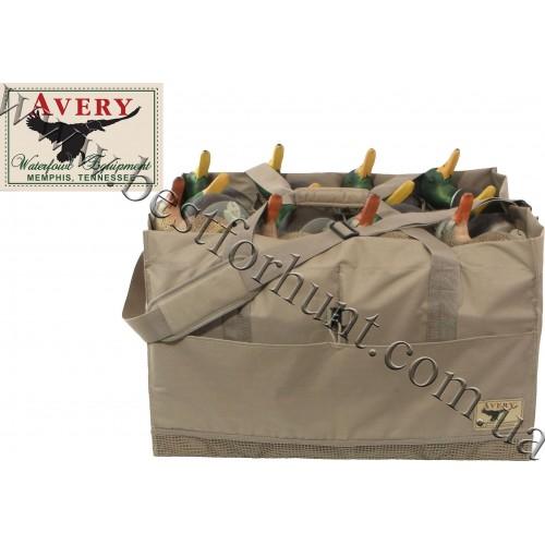 Avery® 12-Slot™ Duck Decoy Bag Field Khaki