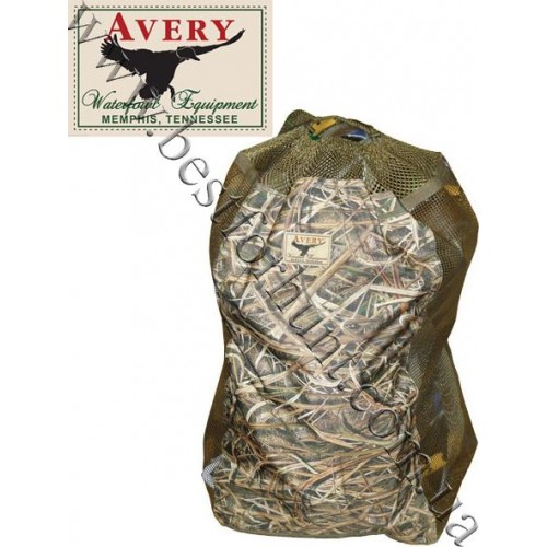 Avery Outdoors® Floating 24 Decoy Bag Mossy Oak® Shadow Grass® Blades™