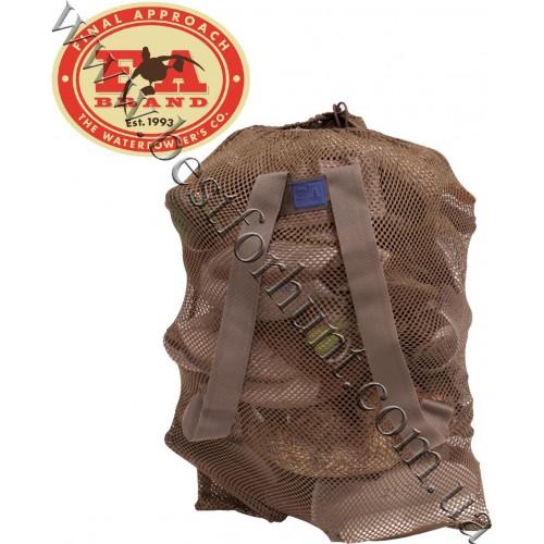 Final Approach® Last Pass Mesh Decoy Bag Brown
