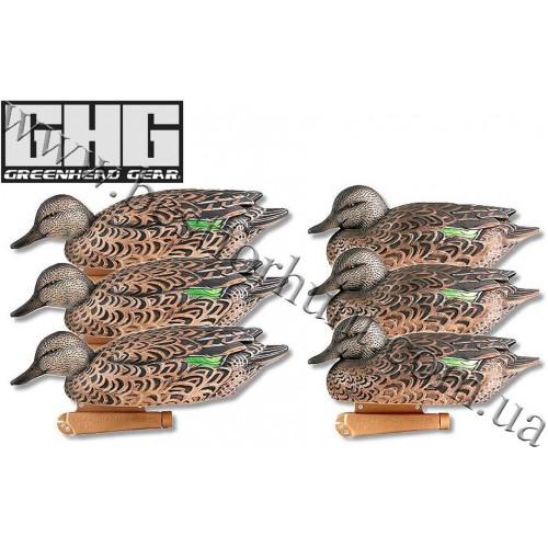 Greenhead Gear® Pro-Grade™ Green-Winged Teal Early Season Hen 6 Pack Decoys 73122