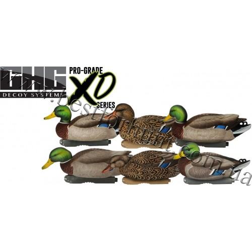 Greenhead Gear® Pro-Grade™ XD Series Mallards Harvester Duck Decoys 6 Pack 76118