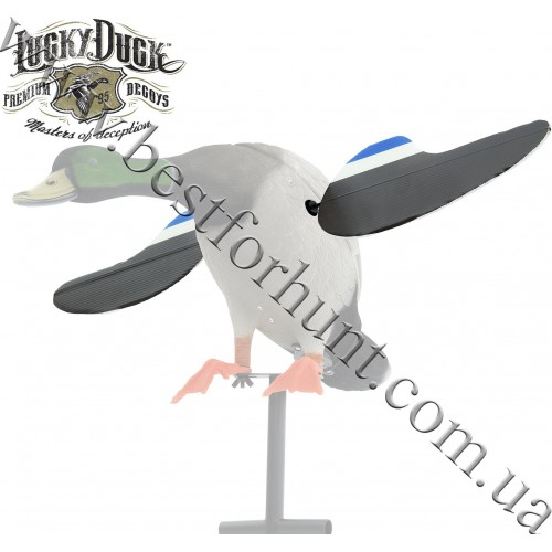 Lucky Duck® Lucky Scout Replacement Wings with Magnetic Shaft