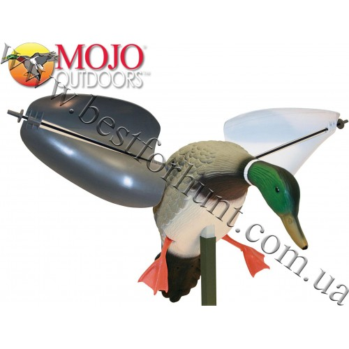 MOJO Outdoors® Wind Driven Spinning Wing Duck Decoy