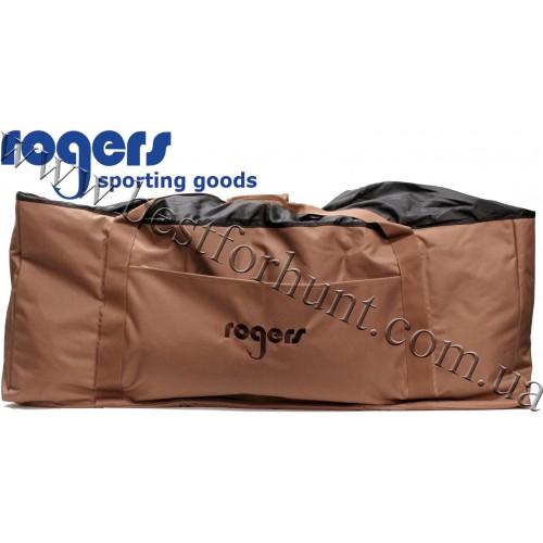 Rogers 12 Slot Deluxe Floating Duck Decoy Bag Field Brown