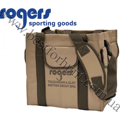 Rogers® 4 Slot Water Motion Decoy Bag Field Brown