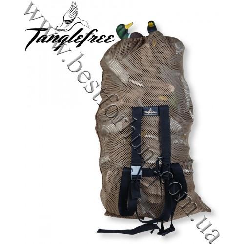 "Tanglefree® Magnum Mesh Decoy Bag 30"" x 50"" Tan"