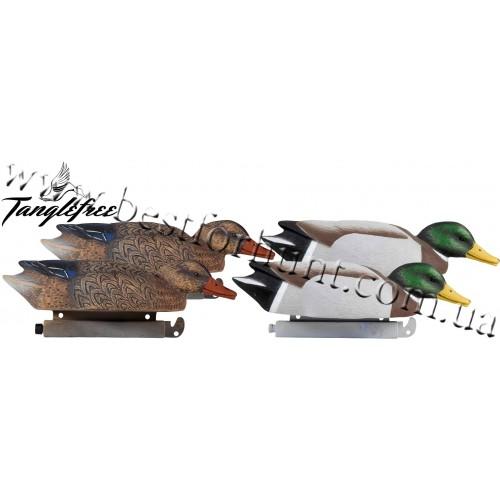 Tanglefree® Pro Series Mallard Skimmer Floater Decoys 4-Pack
