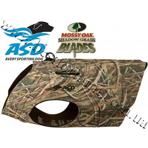 Avery Sporting Dog® Neoprene Boater's Parka Mossy Oak® Shadow Grass® Blades™