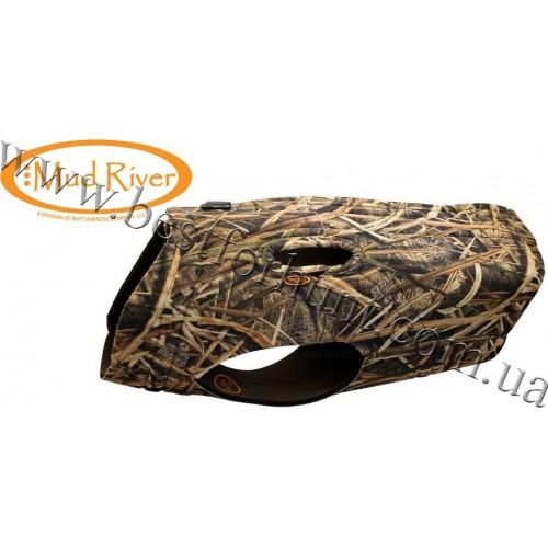 Mud River® Ducks Unlimited™ Deluxe Dog Vest Mossy Oak® Shadow Grass® Blades™