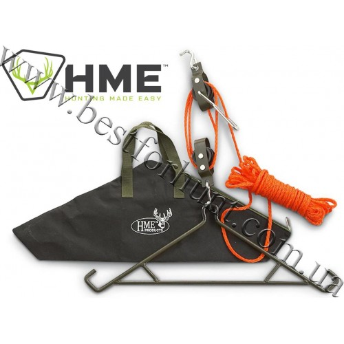 Hunting Made Easy® 4:1 Ratio Pulley System with Gambrel