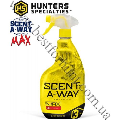 Hunter's Specialties® Scent-A-Way® MAX Spray Odorless 32 fl.oz.