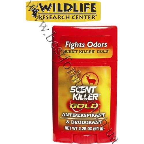 Wildlife Research Center® Scent Killer® Gold® Antiperspirant and Deodorant Odorless Formula™ 2.25 oz.