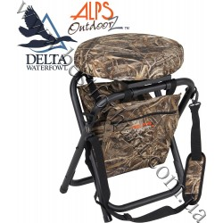 ALPS OutdoorZ® Delta Waterfowl™ Horizon 360 Swivel Stool Realtree MAX-5®