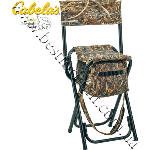 Cabela's High-Back Waterfowl Hunting Stool Zonz™ Waterfowl