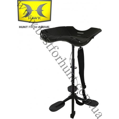 HAWK® Ergo Ultimate Marsh Seat Black