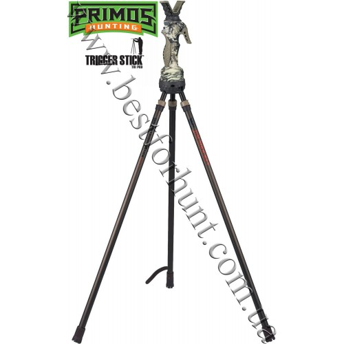 "Primos® Trigger Stick™ Gen 3 Tall Tripod Jim Shockey 24""-62"" Primos® TRUTH® Camo"