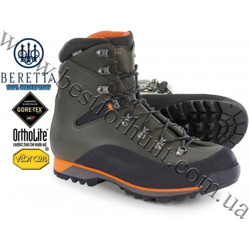 Beretta® Comtek Mid GTX Waterproof Leather Hunting Boots ST550 Ivy Green