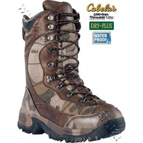 Cabela's Inferno™ 2000 Pac Boots Outfitter Camo™