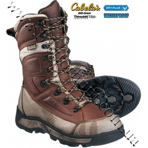 Cabela's Mid-Season 600-Gram Insulated Dry-Plus™ Waterproof Hunting Boots Outfitter Camo™