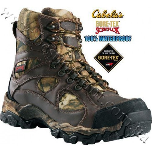 """Cabela's 7"""" Uninsulated Pinnacle™ Hunting Boots with Gore-Tex® Scent-Lok® Mossy Oak® Break-Up® Infinity™"""