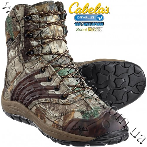 Cabela's Full Draw™ Uninsulated Hunting Boots with 4MOST DRY-PLUS™ Realtree Xtra®