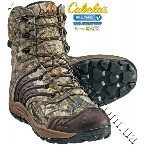 Cabela's Full Draw™ Uninsulated Hunting Boots with 4MOST DRY-PLUS™ Zonz™ Woodlands