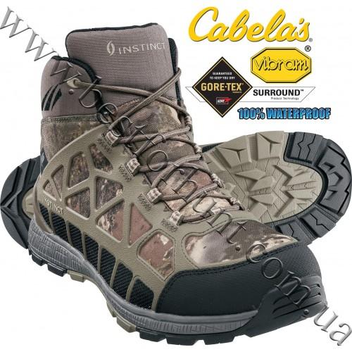 Cabela's Instinct® Men's Pursuitz Hunting Boots with GORE-TEX® Surround® Cabela's O2™ Octane Camo
