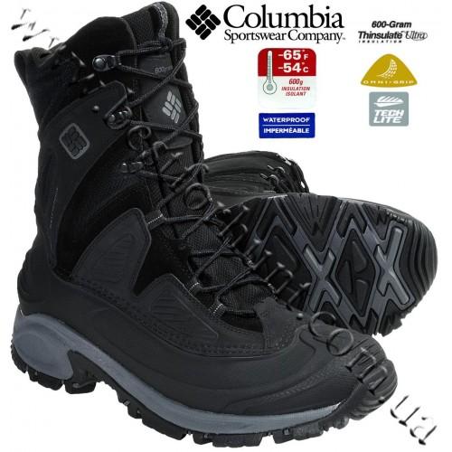 Columbia® Snowtrek™ XTM Waterproof Insulated Winter Boots Black