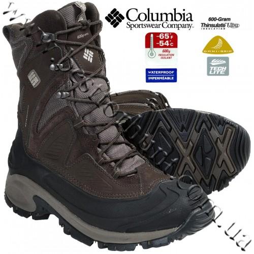 Columbia® Snowtrek™ XTM Waterproof Insulated Winter Boots Cordovan-Tusk