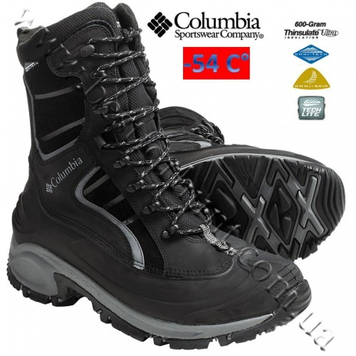 Columbia Whitefield XTM Waterproof Winter Boots Black