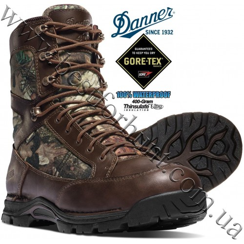 "Danner® 8"" Pronghorn™ 400 gram Insulated GTX® Waterproof Hunting Boots 45011 Mossy Oak® Break-Up® Infinity™"
