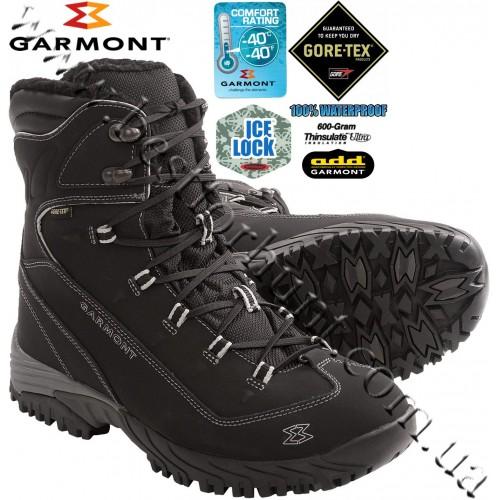 Garmont® Momentum IceLock 600 grams Insulated Gore-Tex® Waterproof Hiking Boots Black