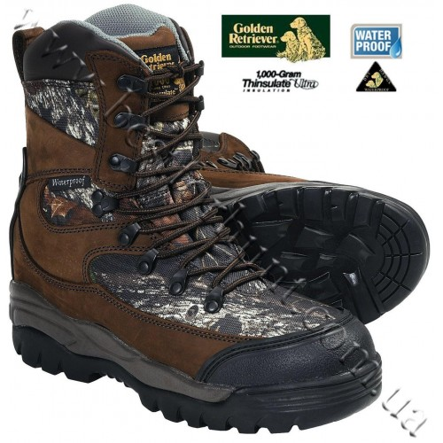 Golden Retriever 4100 1000-gram Insulated Waterproof Hunting Boots Mossy Oak® Break-Up®