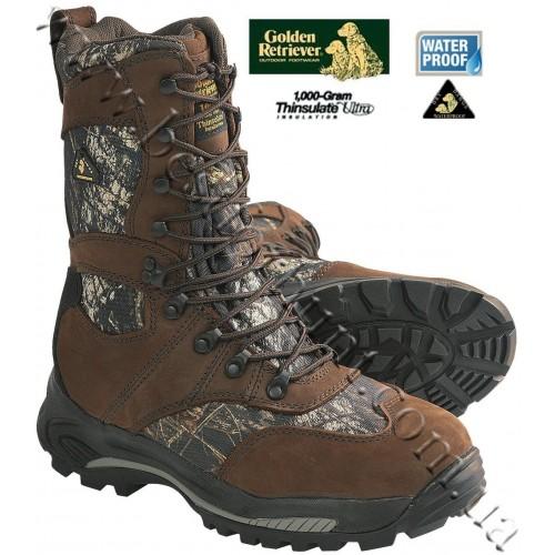 Golden Retriever 4763 1000-gram Insulated Waterproof Hunting Boots Mossy Oak® Break-Up®