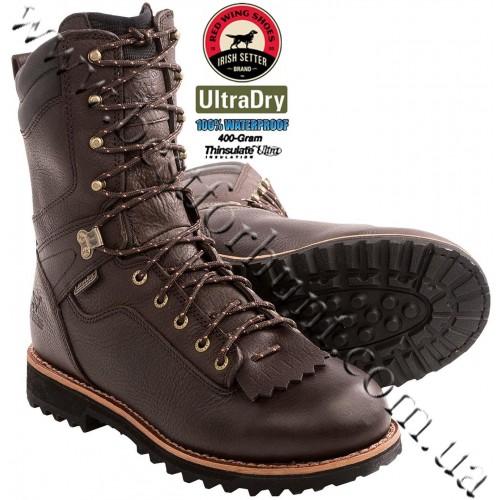 """Irish Setter® 10"""" Black Bear 400-gram Insulated Waterproof Hunting Boot 804 Brown"""