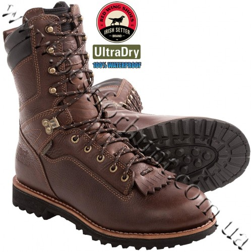 "Irish Setter® 10"" Black Bear Waterproof Hunting Boot 803 Brown"