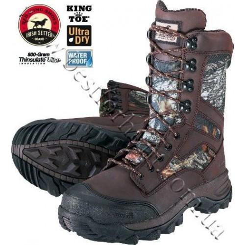 "Irish Setter 10"" Mountain Claw 800-Gram King Toe Hunting Boots Mossy Oak® Break-Up® 2866"