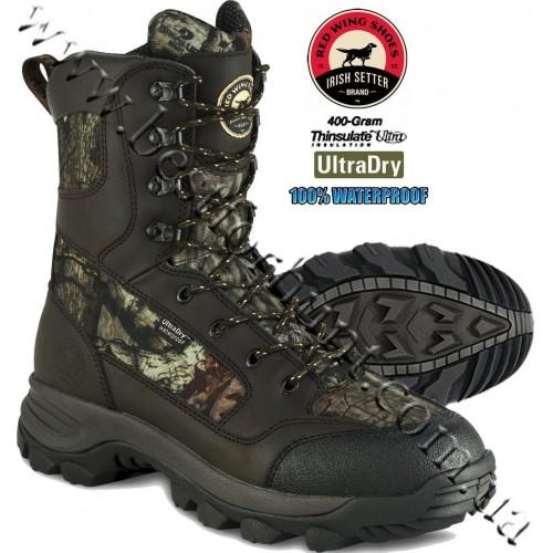 "Irish Setter 10"" Trail Phantom II 400-Gram Insulated Hunting Boots Mossy Oak® Break-Up® Infinity™ 2852"