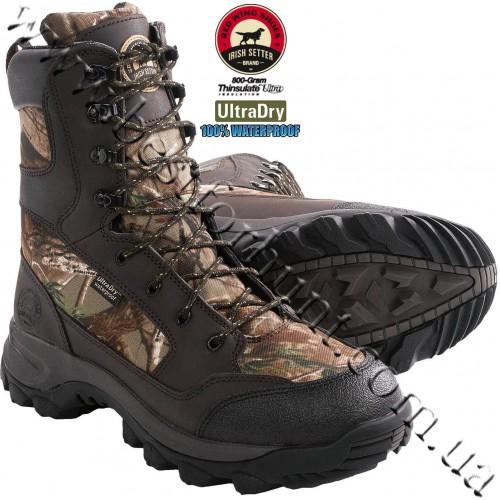 "Irish Setter 10"" Trail Phantom II 800-Gram Insulated Hunting Boots Realtree AP® 2853"