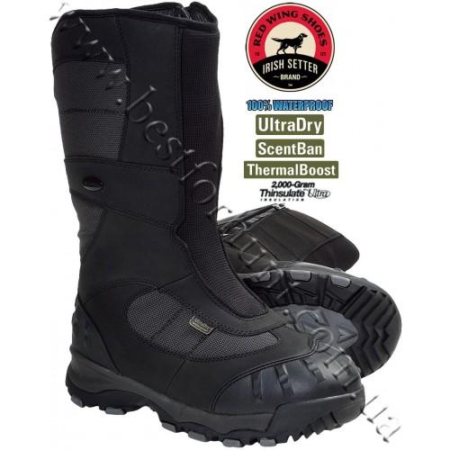 "Irish Setter® 15"" Snow Claw XT 2'000-gram Insulated Hunting Boots Black 4889"