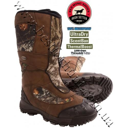 "Irish Setter® 15"" Snow Claw XT 2'000-gram Insulated Hunting Boots Mossy Oak® Break-Up® 4888"