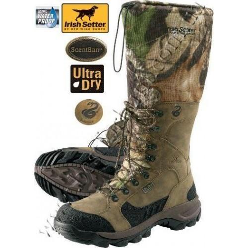 "Irish Setter® 17"" Mountain Claw Waterproof Viper Hunting Boots Mossy Oak® Break-Up® 3800"