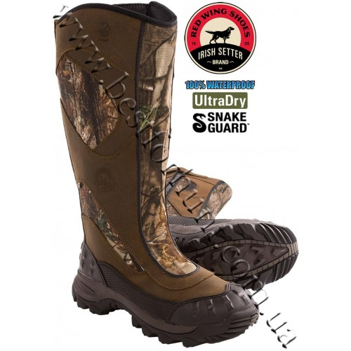 "Irish Setter® 17"" Outrider Viper Snake Waterproof Hunting Boots Realtree AP® 883"