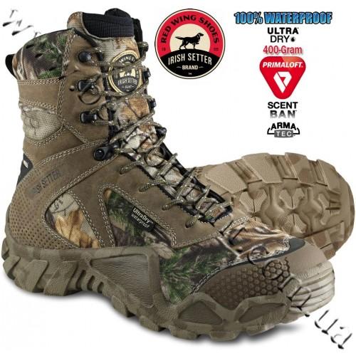"Irish Setter 8"" Vaprtrek™ 400-Gram Insulated Hunting Boots Realtree Xtra® 2873"