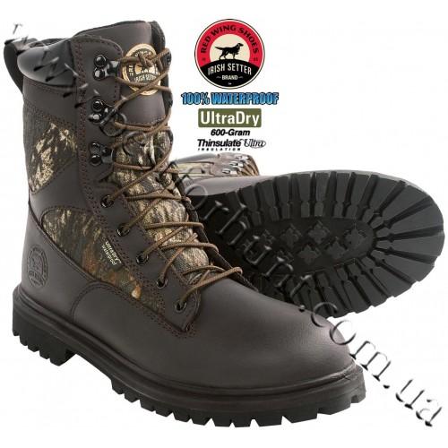 Irish Setter Impact 600-Gram Insulated Hunting Boots Mossy Oak® Break-Up® 857