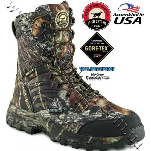 Irish Setter® Shadow Trek™ 800-Gram Hunting Boots Mossy Oak® Break-Up® 3859